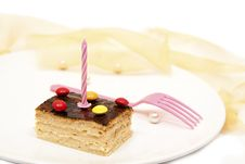 Free Birthday Cake Royalty Free Stock Image - 19631686