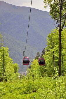 Free Low Cable Car Royalty Free Stock Photos - 19632168