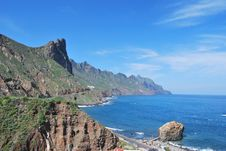 Free Tenerife Coast Of Anaga Royalty Free Stock Photos - 19632268