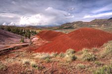 Free Painted Hills, Oregon. Royalty Free Stock Photos - 19633218
