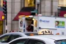 Free Taxi Stock Photo - 19633370