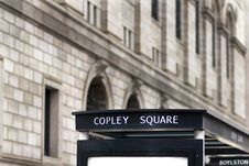 Free Copley Square Royalty Free Stock Image - 19633416