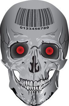 Free Skull Metal Stock Image - 19633611