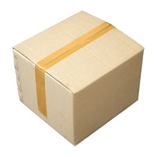 Free Brown Cardboard Boxes. For Packing Royalty Free Stock Images - 19633689