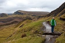 Free Isle Of Skye Hiking Royalty Free Stock Photography - 19633797