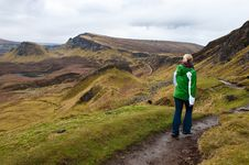 Free Isle Of Skye Hiking Royalty Free Stock Photography - 19633807