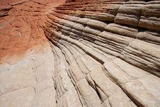 Petrified Sand Dunes Royalty Free Stock Photo