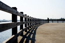 Free Beach Fence Stock Photography - 19634342