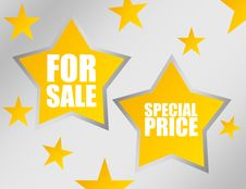 Free Stars For Sale Royalty Free Stock Image - 19634606