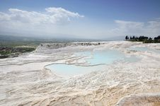 Free Pamukkale Royalty Free Stock Photo - 19635525
