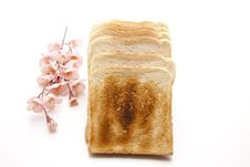 Free Toast Brown Baked Royalty Free Stock Photography - 19636247