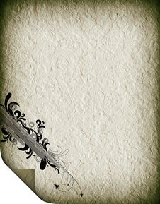 Free Textural Old Paper Royalty Free Stock Image - 19636506