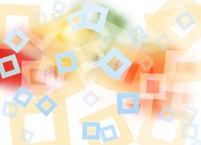 Free Abstract Colorful Square Background Royalty Free Stock Images - 19637339