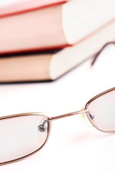 Free Glasses And Book Stock Photo - 19637670