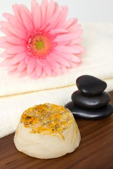 Natural Soap. Royalty Free Stock Images