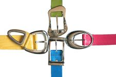 Free Colored Belts Set Stock Image - 19638211