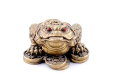 Feng Shui. 3 Legged Toad Royalty Free Stock Photos