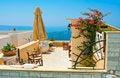 Free Magic Terrace In Santorini Stock Photos - 19642493