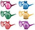 Free Modern Sun Glasses Stock Photo - 19644620