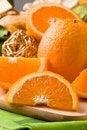 Free Orange Dessert On Cutting Board Royalty Free Stock Photo - 19647705