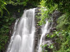Free Chunu (Virgin) Waterfalls Royalty Free Stock Image - 19640736