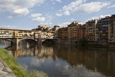 Free Arno River, Florence Italy Royalty Free Stock Photography - 19640767