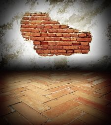 Free Brick Wall Royalty Free Stock Photos - 19641568