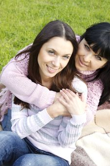Free Mother And Daughter Royalty Free Stock Image - 19641656