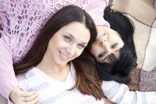 Free Mother And Daughter Royalty Free Stock Photos - 19641778