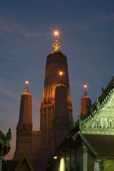 Free Pagoda In Twilight Stock Image - 19642231