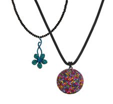 Free Two Colorful Pendants Stock Photography - 19642382