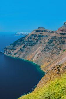 Free View Of Harbor On Island Of Santorini, Greece Stock Photography - 19642542