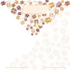 Free Background Banner Flower Style Stock Images - 19642574