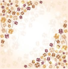 Free Flower Background Banner Royalty Free Stock Photos - 19642668
