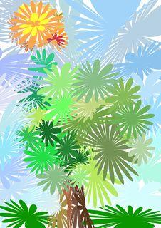 Free Flower Tree Royalty Free Stock Photos - 19642828