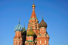Free St. Basil S Cathedral. Moscow. Royalty Free Stock Photo - 19642895