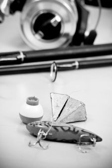 Free Fishing Accessories Stock Photography - 19643092