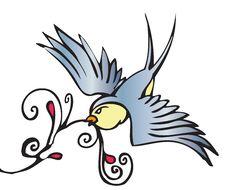 Free Swallow Royalty Free Stock Photos - 19643298