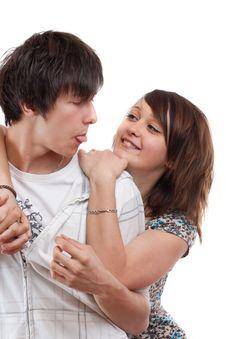Free Loving Couple Stock Photos - 19643323