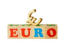 Free Euro Wooden Blocks Stock Photo - 19643510