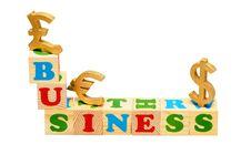 Free Business Wooden Blocks Stock Photos - 19643523