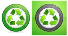 Free Recycle In Round Stock Photos - 19643613