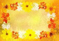 Free Stylized Floral Picture Royalty Free Stock Photography - 19643827