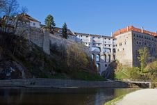 Free Castle In Cesky Krumlov Royalty Free Stock Images - 19643889