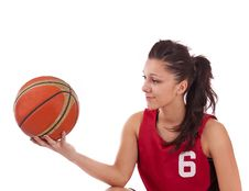 Free Basketball Player Stock Photo - 19644190