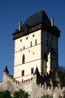Free Karlstejn Tower Royalty Free Stock Photos - 19644248