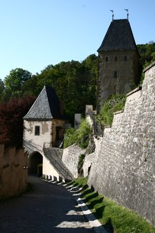 Free Karlstejn Gate Royalty Free Stock Images - 19644269