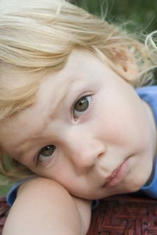 Free Little Boy With Huge Eyes Royalty Free Stock Photos - 19644318
