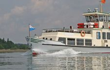 Free Chiemsee Tourist Ferry Stock Photography - 19644642