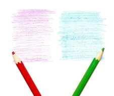 Free Pencil Strokes Royalty Free Stock Image - 19645296